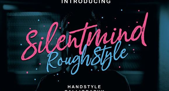 Silentmind Rough Typeface by RiverSide on @creativemarket