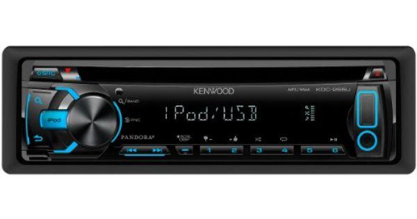 Kenwood KDC255U InDash USB/CD Receiver Made For iPhone