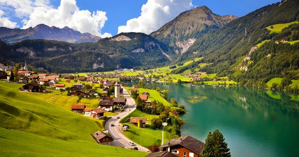 "The Village of Lauterbrunnen in Switzerland was the reason the term ""picturesque"