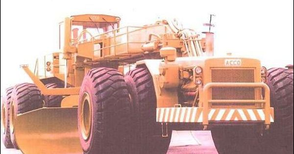 Acco Biggest Motor Grader In The World Google Search