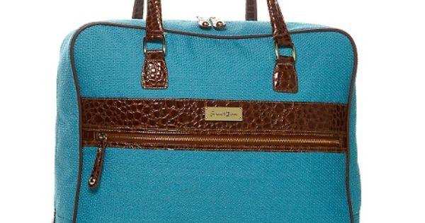 Samantha Brown Luggage Qvc: Samantha Brown Tweed Jumbo Tote At HSN.com $40