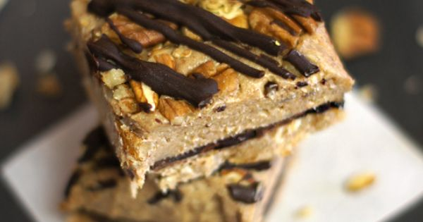 No bake pecan bars- Vegan + Paleo
