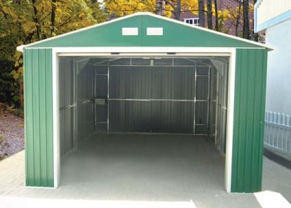 Duramax 12x32 Imperial Metal Storage Barn Garage Storage Shed Kits Barn Storage