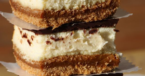 Describe your pinDulce de Leche Cheesecake Bars: These babies are what we