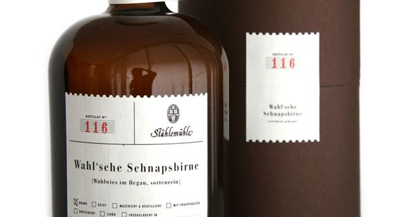 Stählemühle Spirits. Repinned by www.strobl-kriegner.com branding packaging design creative marketing