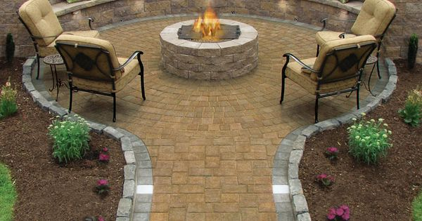 backyard ideas | backyard ideas, backyard fire pit, backyard firepit, sitting area