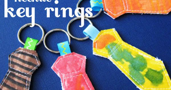 Gift idea: Shoptimist Blogger Rebecca Holland recommends a necktie key ring for