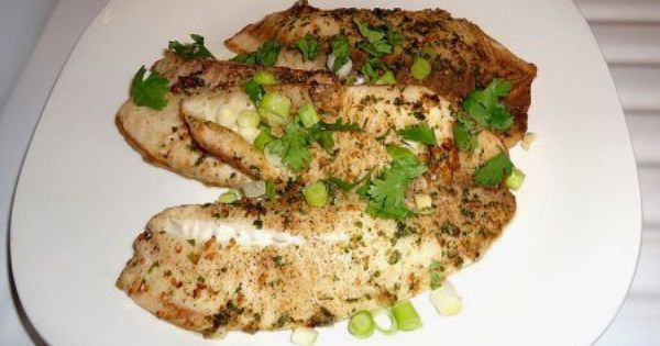 Ginger and Cilantro Baked Tilapia | whatskpcooking.com | Pinterest ...