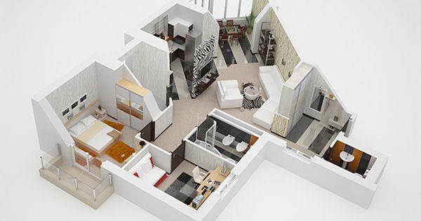 interior room models google search architecture presentations pinterest 3d google. Black Bedroom Furniture Sets. Home Design Ideas