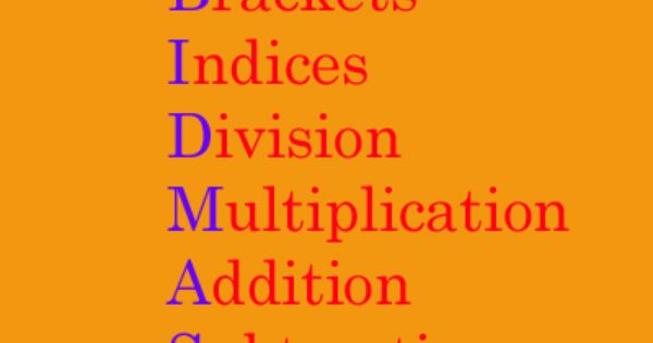 BIDMAS quiz | Maths | Pinterest | Math, Quizes and Gcse math