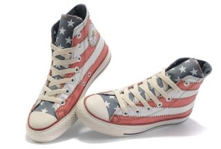 converse scarpe shop, Online Red Converse American Flag All