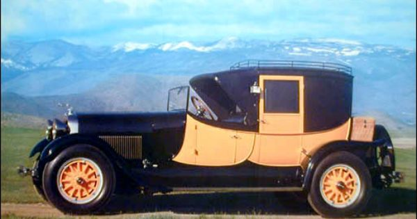 1927 Lincoln Model L Judkins Coaching Brougham Lincoln
