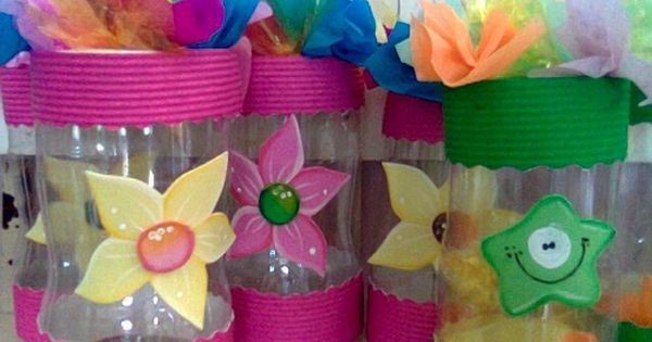 Manualidades con botellas plasticas botellas pinterest - Manualidades con envases ...