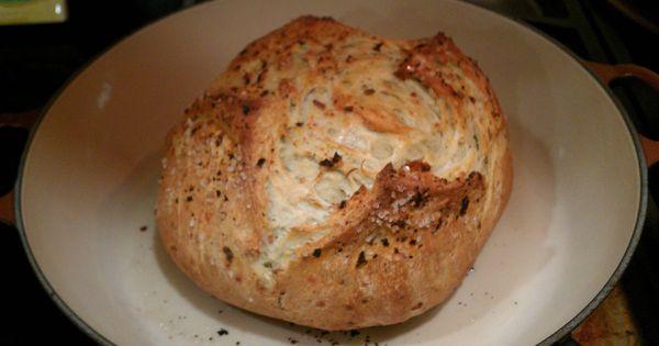 Crusty Sourdough Bread With Parsley Pesto Recipe — Dishmaps