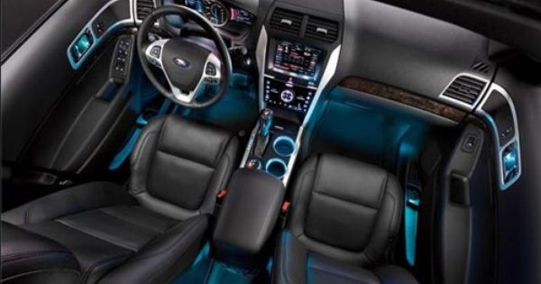 2012 Ford Explorer Limited Edition Interior With Images Ford