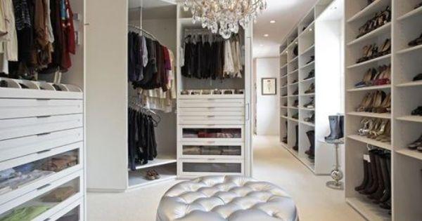 Walk in closet... dream house!