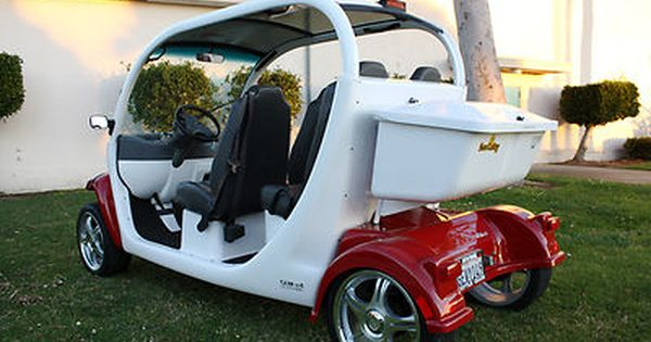 2005 Gem Car Street Legal Electric Car Ev Nev Golf Cart On