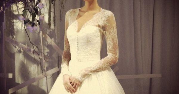 Top 10 Bridal Market Fall 2013 Wedding Dresses via Instagram | Bridal