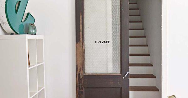 Old Door Home Design Style Pinterest Sliding