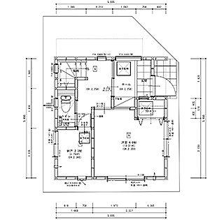 最新の図面が届きました 9坪ハウス 間取り 3階建て 間取り