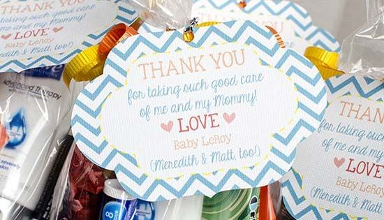 Labor And Delivery Nurse Thank You Bags Bags Mom And