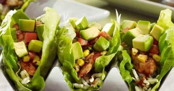 {mediterranean chicken lettuce tacos}