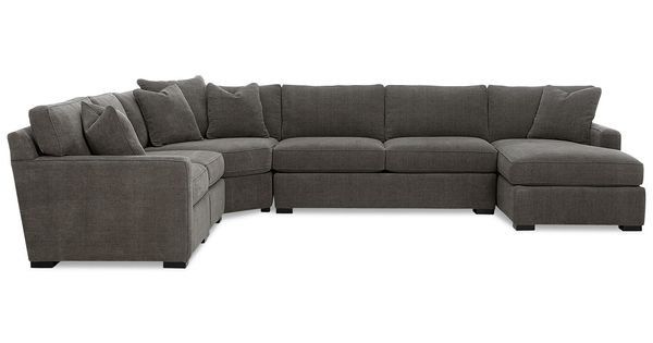 Bradington Young Furniture Reviews Radley 5 Piece Fabric Chaise Modular Sectional Sofa324188873147836203 ...