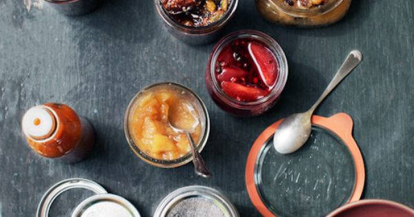 Preserving the last bit of summer with jams and mason jars.