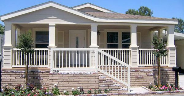 Roof Design Ideas: Porches For Double Wide Mobile Home