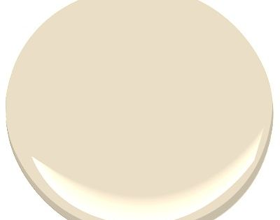Benjamin Moore Gentle Cream, living room a part of the Candice Olson