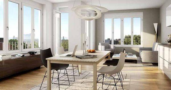gro e fenster sorgen in diesen eigentumswohnungen f r optimale lichtverh ltnisse berlin. Black Bedroom Furniture Sets. Home Design Ideas