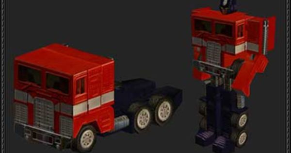 Papercraft download papercraft and optimus prime on pinterest