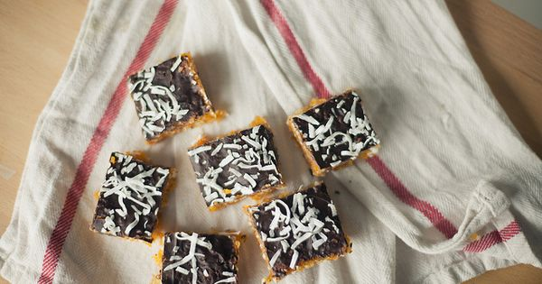 apricot coconut almond bars by Vanilla and lace, via Flickr | Brown ...