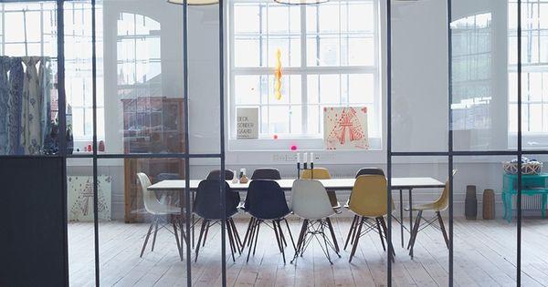 Cloison verre vitr s atelier cloisons pinterest lunettes et atelier for Comcloison verre atelier