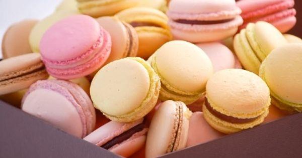 بالفيديو طريقه عمل حلوى الماكرون الايطالى Macaroons Food Sweet Tooth