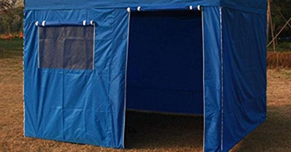 Eurmax Enclosure Wall Kit For 10 X 10 Pop Up Canopy Attach By Velcro Canopy Frame And Canopy Top Cover Not Inclu Best Tents For Camping Tent Camping Go Camping