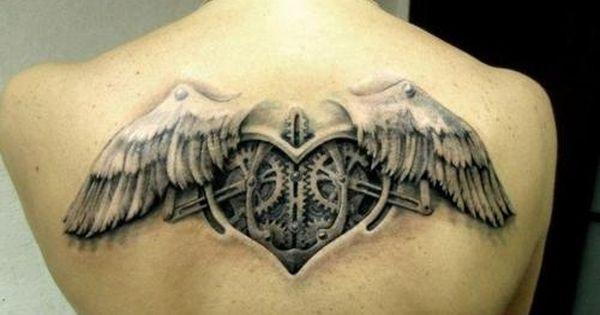 Mechanical Heart Tattoo Design Of Tattoos Steampunk Tattoo Steampunk Tattoo Design Heart Tattoo Designs