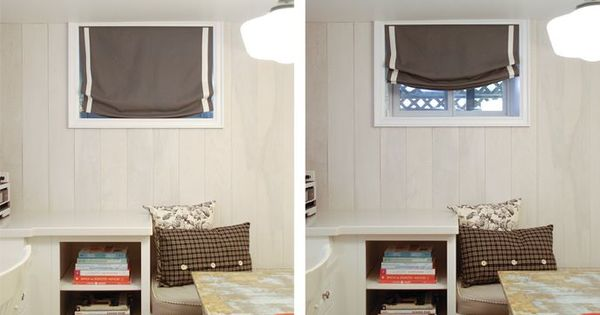 Basement windows basement window treatments and window treatments on