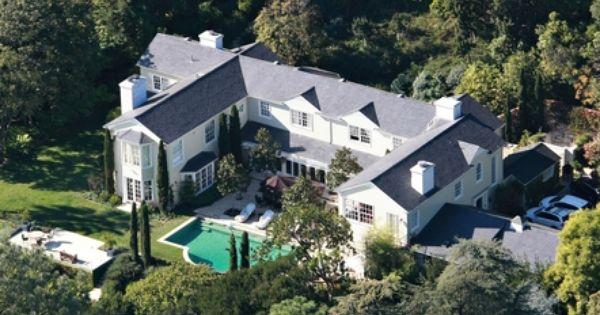 Salma Hayek And Francois Pinault S Estate In Bel Air Celebrity