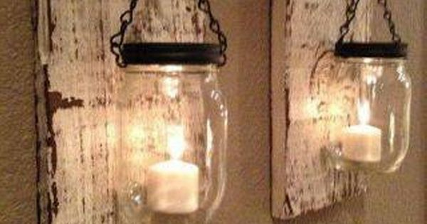 Have you ever witnessed a mason jar in your surroundings for Best brand of paint for kitchen cabinets with home made candle holders