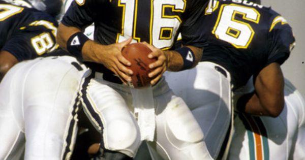 Qb Mark Malone San Diego Chargers 1988 Quarterbacks