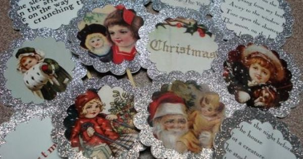 ... | Pinterest | Christmas Cupcakes, Cupcake Toppers and Cupcake