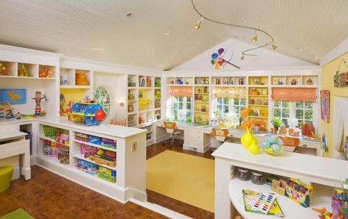 Dream play area/ craft room