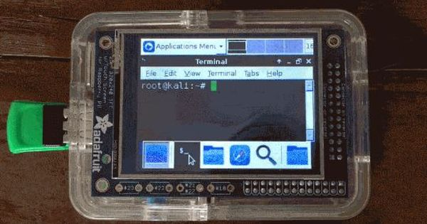 Build a portable hacking station with raspberry pi and