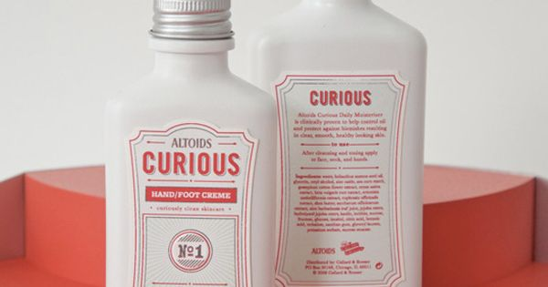 Curious Skin Care (Student Work) on Packaging of the World - Creative