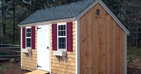 Salt Box Shed Design Home Sheds Small Buildings