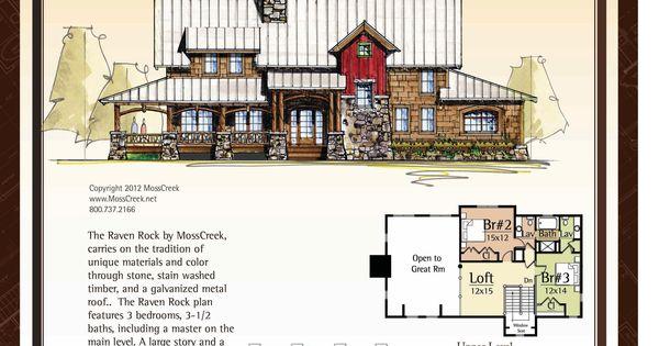 Moss Creek Raven Rock Houseplans Pinterest Ravens