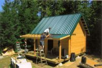 Valemont Small Cabin Kit - 14' X 20' | Cabins | Tiny house