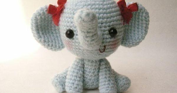 Petit Sonia - PDF crochet pattern Crochet bebe, elephant ...