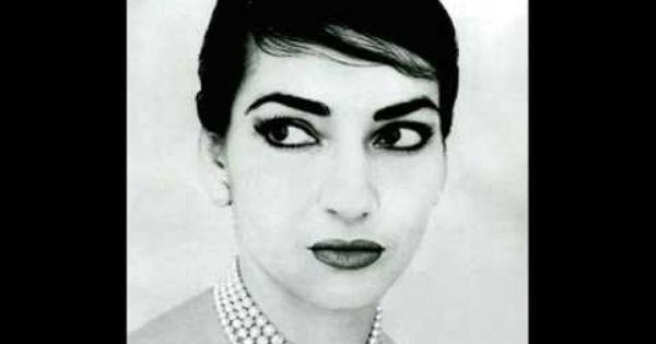 Maria Callas Casta Diva Bellini Norma 1961 Youtube Maria Callas Opera Singers Maria